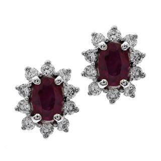 Picture of Oval center earrings - bigger stones