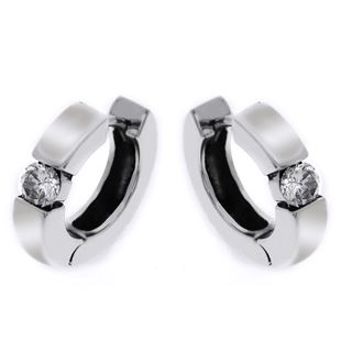 Picture of Single round stone hoops