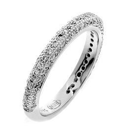 Picture of 5 bead pave set multi-row band