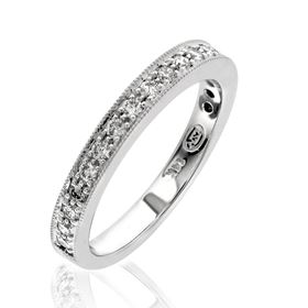 Picture of 5 bead pave set band