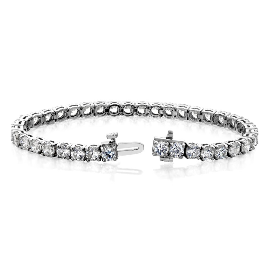 Picture Of Double G Under Gallery Bracelet With Lock