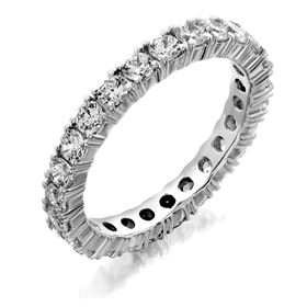 Picture of Four prong eternity band