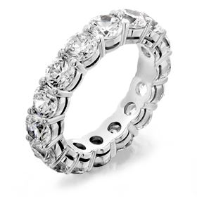 Picture of Shared prong eternity band under gallery