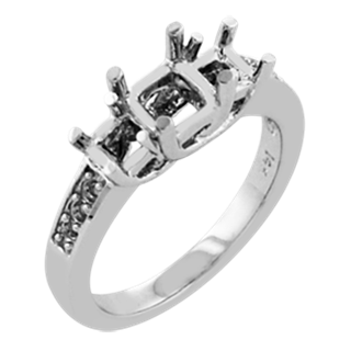 ring with square stone