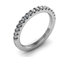 Picture of Half way split prong matching band