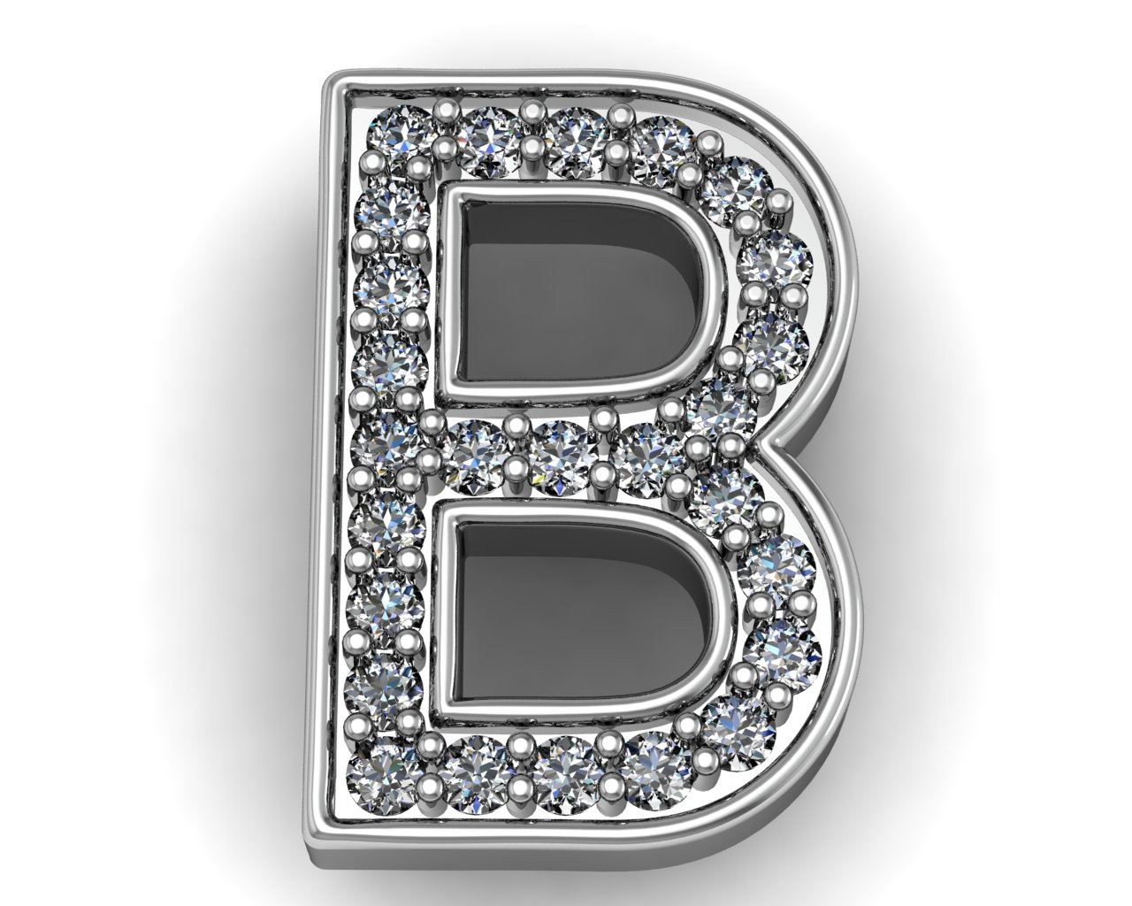 Letters A to Z pendant | Fine Jewelry Manufacturer | R  S