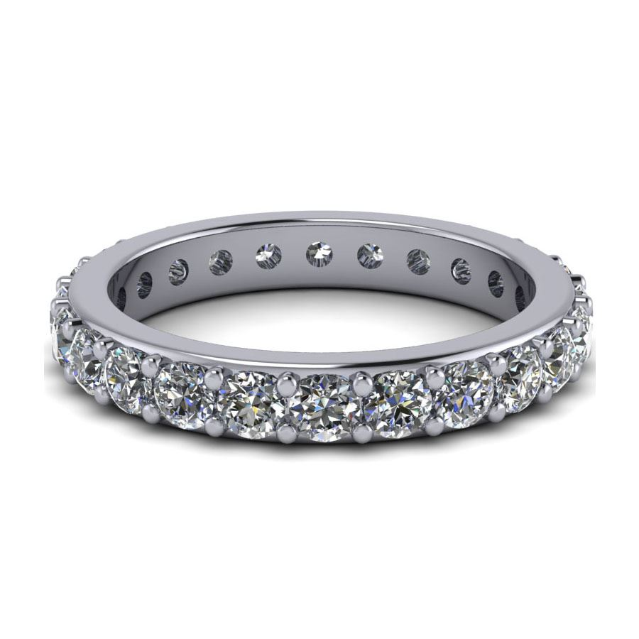 product bands eternity half stones style prong with wedding set band diamond