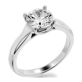 Picture of Trellis solitaire with 4 prong head