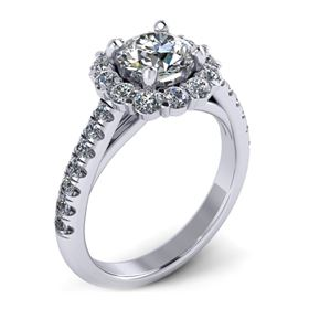 Picture of Halo ring flush fit round outline 1