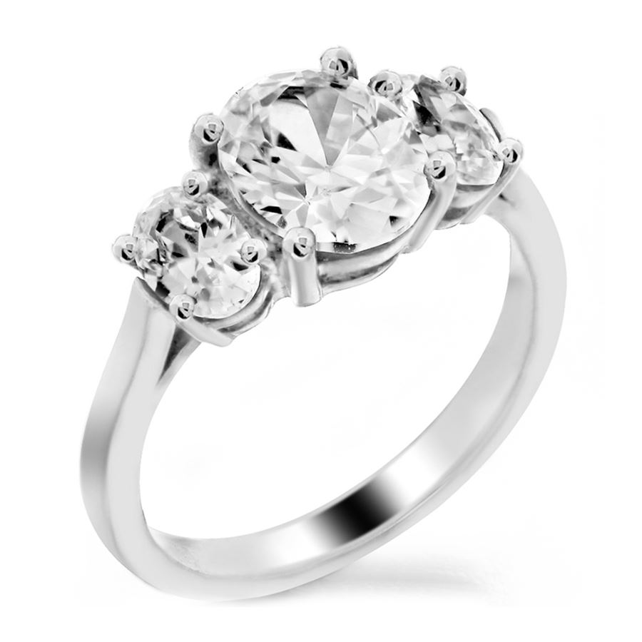 modern rings round wedding profile low diamond engagement products half dsc ring bezel