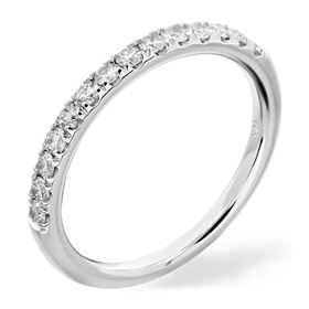 Picture of Split prong half way wedding band 1