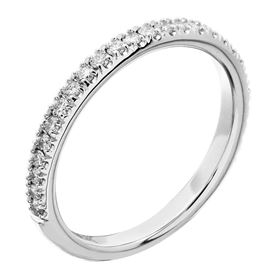 Picture of Split prong 3/4 way wedding band